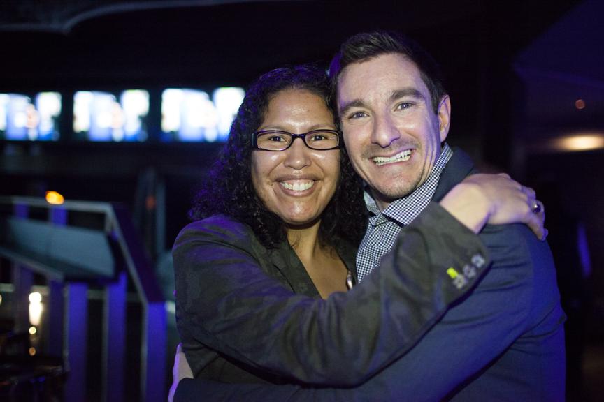 Amy and Robert