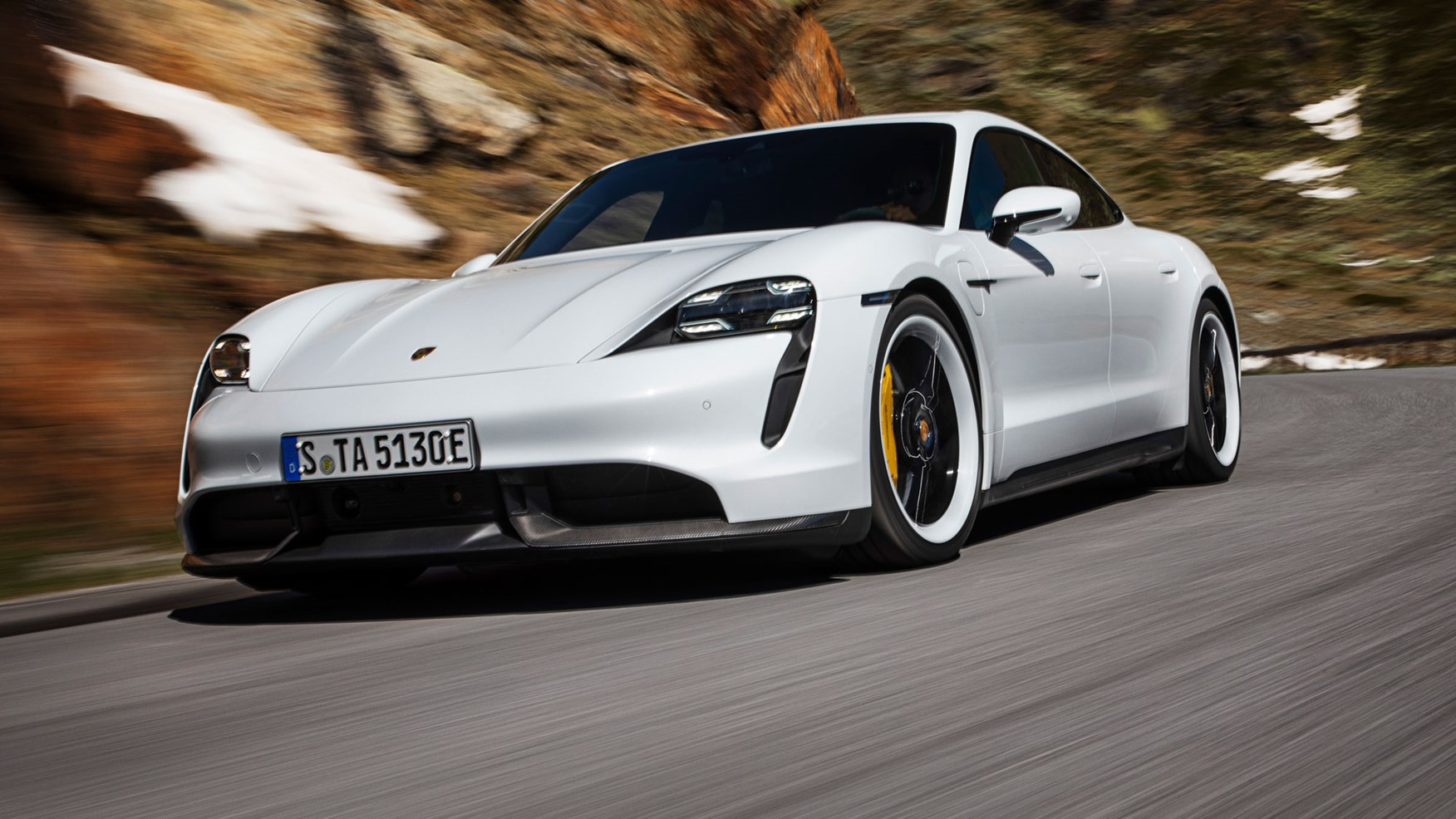 Can The New Porsche Taycan Take On Tesla Just One More Drive
